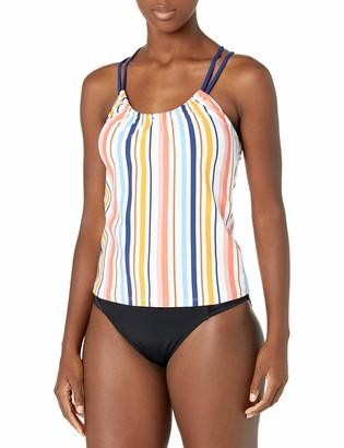 Next Women's Standard Shirred Swimsuit Tankini Top