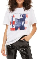 Topshop Women's By And Finally Bruce Springsteen Graphic Tee