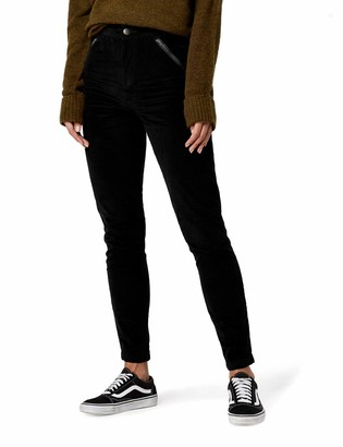 Find. Amazon Brand Women's Cord Skinny Fit Trouser with Zip Pockets