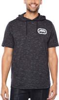 Ecko Unlimited Unltd Short Sleeve Jersey Pattern Hoodie