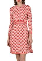 Molly Bracken Lili Sidonio Heart-Print Shirtdress