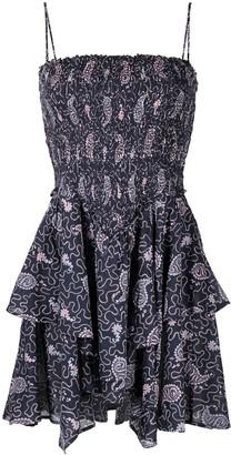 Etoile Isabel Marant Paisley Print Mini Dress