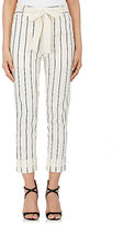 Derek Lam Women's Striped Twill Utility Pants