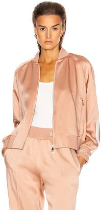 Moncler Camicia Bomber Jacket in Blush | FWRD