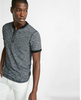 Express Slub Short Sleeve Henley