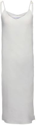 SOPHIA Linen Slipdress in Chalk