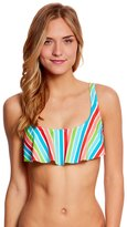 Bikini Lab Rainbow Perfection Bow Back Hanky Flutter Top 8125401