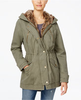 American Rag Faux-Fur-Lined Hooded Utility Parka, Only at Macy's