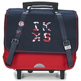 Ikks UNION JACK CARTABLE TROLLEY 38CM MARINE / Red