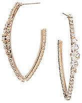 Cezanne Oval Hoop Earrings