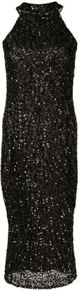 Rachel Gilbert Lucia bead embellished dress