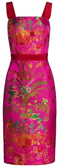 Thumbnail for your product : Etro Sleeveless Floral Jacquard Dress