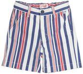 Il Gufo Striped Stretch Cotton Shorts