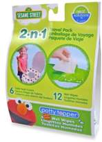 Disney Baby Hamco Neat Solutions Sesame Street Potty Toppers & Wet Wipes