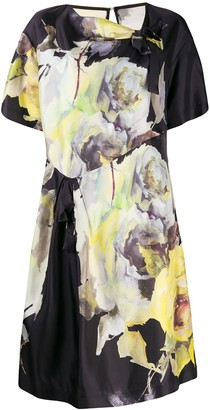Antonio Marras Floral Print Shift Dress