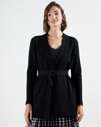 Ted Baker SIYENNA D-ring belted cardigan