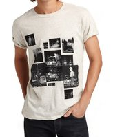Marc by Marc Jacobs Mens Trouble Print T-shirt