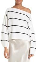 Vince Women's Stripe Cashmere Sweater