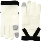 Kate Spade Contrast Bow Gloves Extreme Cold Weather Gloves