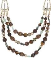Alexis Bittar Three Layer Multi-Bead Necklace