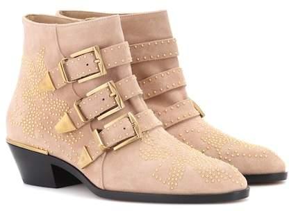 Chloé Susanna suede ankle boots