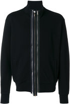 Maison Margiela multi-zip front sweatshirt - men - Cotton - 48