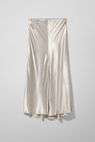 Thumbnail for your product : Weekday Wave Skirt - Beige