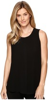 Ellen Tracy Georgette Overlay Shell Women's Clothing