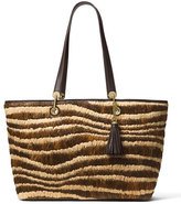MICHAEL Michael Kors Malibu Large East-West Top-Zip Tote Bag