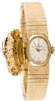Baume & Mercier 14K Diamond Manual Watch