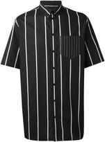 Givenchy boxy striped shirt