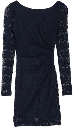 Jump Long Sleeve Lace Dress