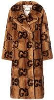 Gucci Mink fur coat