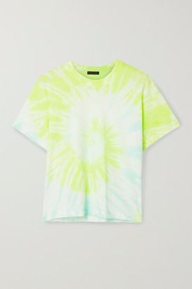 ATM Anthony Thomas Melillo Boy Tie-dyed Cotton-jersey T-shirt - White