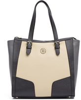 Tommy Hilfiger Contrast Saffiano Tote