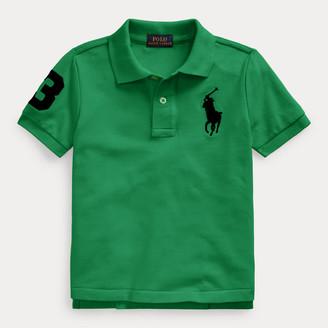 Ralph Lauren Big Pony Cotton Mesh Polo Shirt