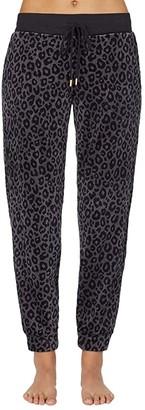 Donna Karan Casual Luxe Sleepwear Pants (Aubergine) Women's Pajama