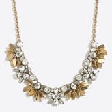 J.Crew Factory Crystal bouquet necklace