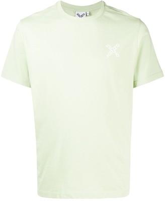 Kenzo cross logo print T-shirt