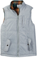 Sovereign Code Reverb Quilted Flannel Vest (Big Boys)