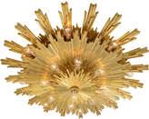 Rejuvenation Exceptional Gilt Bronze Sunburst E.F. Caldwell Fixture