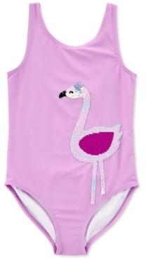 Carter's Little & Big Girls 1-Pc. Reversible Sequin Swim Suit