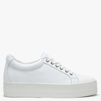 Daniel Piccadilly Circus White Trainers