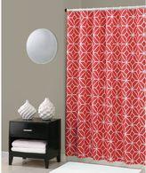 Trina Turk Trellis Shower Curtain in Coral