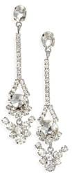 CRISTABELLE Multi Stone Anchor Drop Earrings