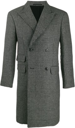 Ermenegildo Zegna Houndstooth double-breasted coat