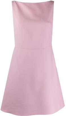 Valentino Bow-Detail Sleeveless Dress