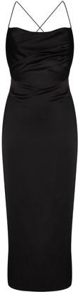 Rasario Cross-Back Slip Dress