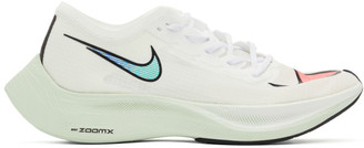 Nike White ZoomX Vaporfly NEXT% Sneakers