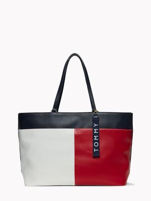 Tommy Hilfiger Colorblock Tote Bag